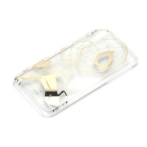 【予約販売】【2019年2月20日頃入荷予定】iPhoneXSMax用マーベルキャラクター箔押しクリアケース