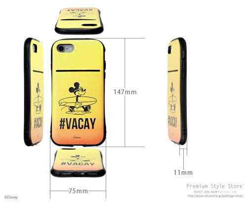 【予約販売】【2月20日入荷予定】ディズニーiPhone8/7用タフポケットケース