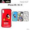 ディズニーiPhoneXRiPhoneXSハイブリッドタフケースミッキーアイフォンXRアイフォンXs新iPhone