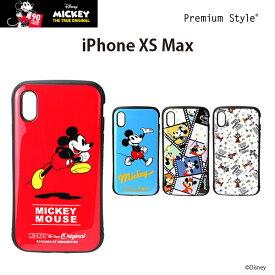 bdac610d37 ディズニー iPhoneXSMax ハイブリッドタフケース ミッキーマウス アイフォンXSMax【6.5 アイフォンマックス ケース プレミアムスタイル