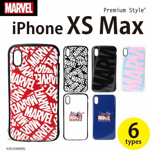 MARVEL マーベル iPhoneXSMax ハイブリッドタフケース アイフォンXSMax【6.5 アイフォンマックス ケース プレミアムスタイル Premium Style おしゃれ あいふぉん 耐衝撃 ワイヤレス充電可能 スパイダーマン】