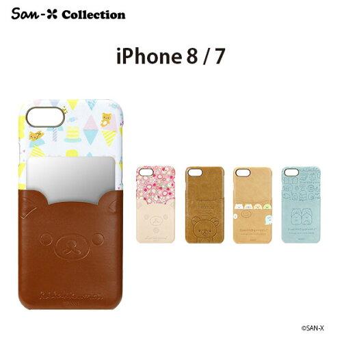 【2016年9月15日入荷予定】iPhone74.7inchサンエックスキャラクターポケット付きPUケース