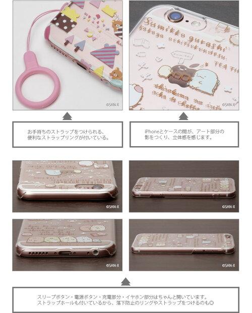 PGAサンエックスiPhone6s/6専用クリアケース