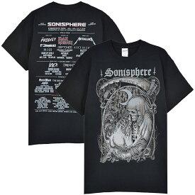 SONISPHERE FESTIVAL - Godmachine(BABYMETAL / ベビーメタル出演) / バックプリントあり / Tシャツ / メンズ 【公式 / オフィシャル】