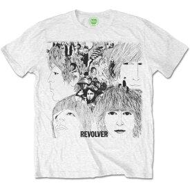BEATLES ビートルズ (Abbey Road 50周年記念 ) - REVOLVER ALBUM COVER / Tシャツ / メンズ 【公式 / オフィシャル】