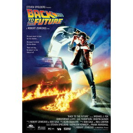 BACK TO THE FUTURE バックトゥザフューチャー ONE-SHEET / ポスター 【公式 / オフィシャル】