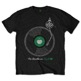 BEATLES ビートルズ (Abbey Road 50周年記念 ) - APPLE TURNTABLE / Tシャツ / メンズ 【公式 / オフィシャル】