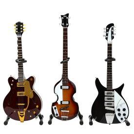 BEATLES ビートルズ - Fab Four Guitar ミニチュア・セット / ミニチュア楽器 【公式 / オフィシャル】