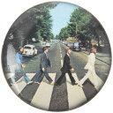 BEATLES ビートルズ (Abbey Road 50周年記念 ) - ABBEY ROAD / バッジ 【公式 / オフィシャル】