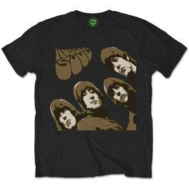 BEATLES ビートルズ (Abbey Road 50周年記念 ) - RUBBER SOUL SKETCH / Tシャツ / メンズ 【公式 / オフィシャル】