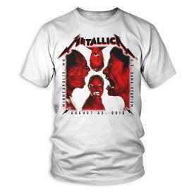 METALLICA メタリカ - 【会場限定Tシャツ】MINNEAPOLIS / SQUARE STARE / Tシャツ / メンズ 【公式 / オフィシャル】