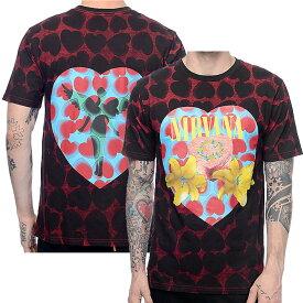 NIRVANA ニルヴァーナ (Bleach発売30周年記念 ) - Heart Shaped / バックプリントあり / Tシャツ / メンズ 【公式 / オフィシャル】