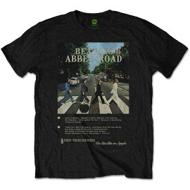 BEATLES ビートルズ (Abbey Road 50周年記念 ) - ABBEY ROAD 8 TRACK / Tシャツ / メンズ 【公式 / オフィシャル】