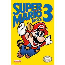 SUPER MARIO BROS. スーパーマリオ NES Cover / ポスター 【公式 / オフィシャル】