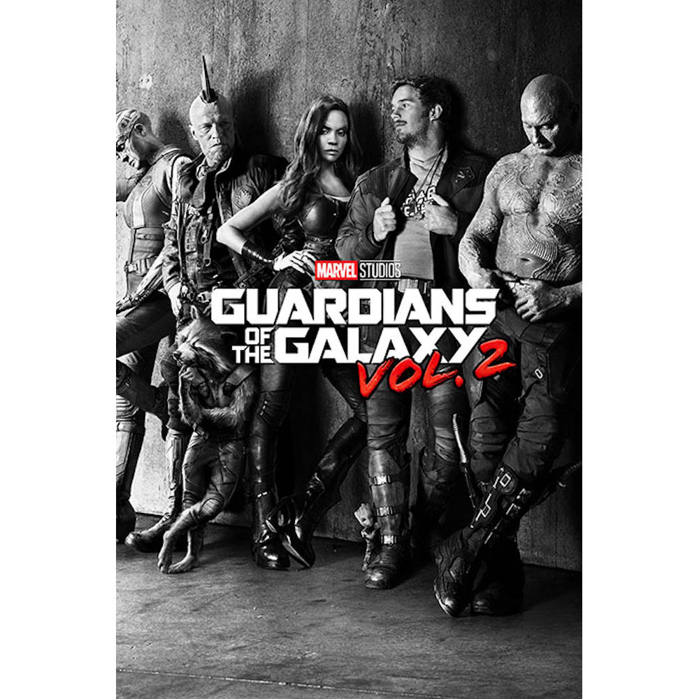 GUARDIANS OF THE GALAXY ガーディアンズ・オブ・ギャラクシー Black & White Teaser / ポスター 【公式 / オフィシャル】