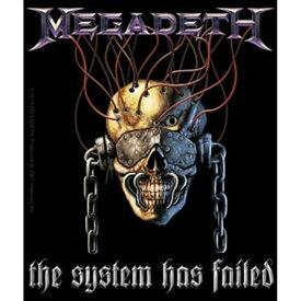 MEGADETH メガデス (結成35周年記念 ) - System Has Failed / ステッカー 【公式 / オフィシャル】