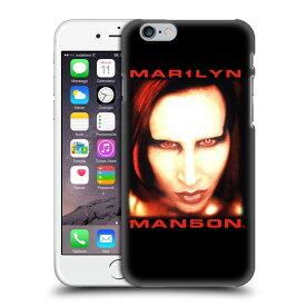 MARILYN MANSON マリリンマンソン - Bigger Than Satan Face ハード case / iPhoneケース 【公式 / オフィシャル】