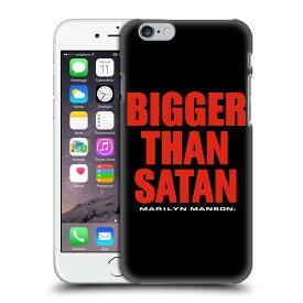 MARILYN MANSON マリリンマンソン - Bigger Than Satan Text ハード case / iPhoneケース 【公式 / オフィシャル】
