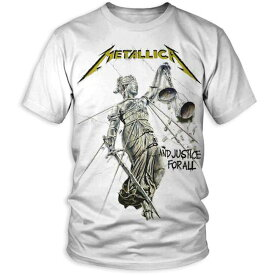 METALLICA メタリカ - AND JUSTICE FOR ALL / Tシャツ / メンズ 【公式 / オフィシャル】