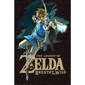 THE LEGEND OF ZELDA ゼルダの伝説 Breath of the Wild (Game Cover) Maxi Poster / ポスター 【公式 / オフィシャル】