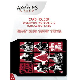 ASSASSINS CREED アサシンクリード - Grid カードホルダー / 財布 【公式 / オフィシャル】