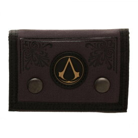 ASSASSINS CREED アサシンクリード - Canvas Tri-Fold Wallet / 財布 【公式 / オフィシャル】