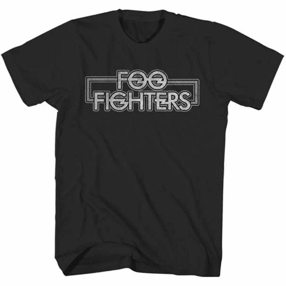 FOO FIGHTERS フーファイターズ OUTLINED LOGO / Tシャツ / メンズ 【公式 / オフィシャル】