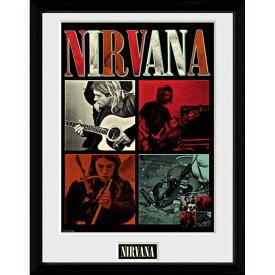 NIRVANA ニルヴァーナ (Bleach発売30周年記念 ) - Squares / 額入りフォトボード / インテリア額 【公式 / オフィシャル】