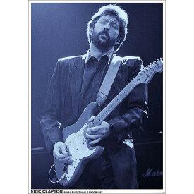 ERIC CLAPTON エリッククラプトン - Royal Albert Hall 1987 / ポスター 【公式 / オフィシャル】