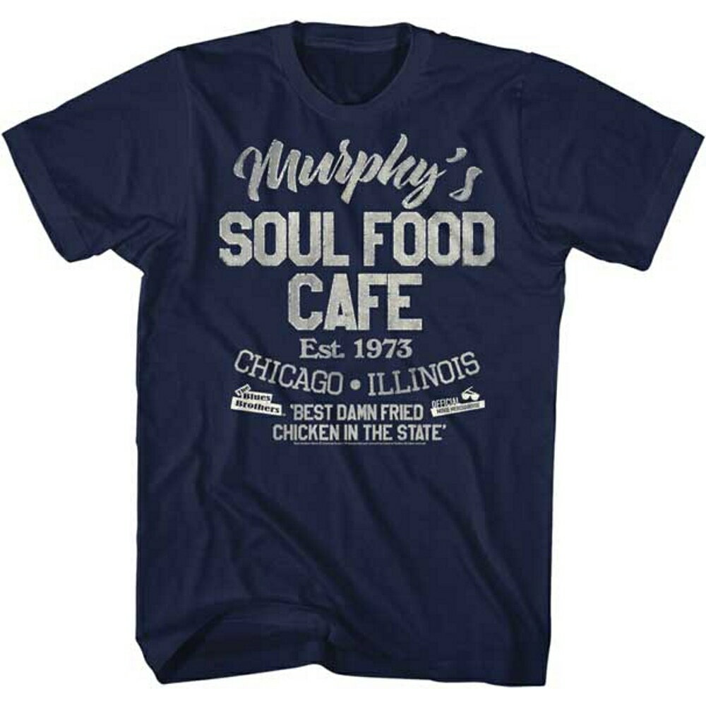 BLUES BROTHERS ブルースブラザーズ SOUL FOOD CAFE / Tシャツ / メンズ 【公式 / オフィシャル】