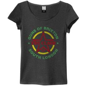 CLASH クラッシュ (London Calling40周年記念 ) - GUNS OF BRIXTON TOUR / Amplified( ブランド ) / Tシャツ / レディース 【公式 / オフィシャル】