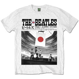 ビートルズ武道館50周年記念 BEATLES ビートルズ (Abbey Road 50周年記念 ) - Live at the Budokan / Tシャツ / メンズ 【公式 / オフィシャル】