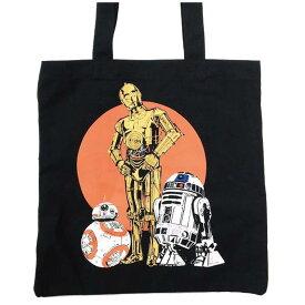 STAR WARS スターウォーズ (『帝国の逆襲』40周年 ) - R2-D2&C-3PO&BB-8 トートバッグ / トートバッグ 【公式 / オフィシャル】
