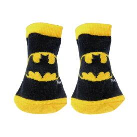 BATMAN バットマン (80周年記念 ) - キャラックス(カップ入) BATMAN アイコン BK×YE / ソックス / ガールズ 【公式 / オフィシャル】