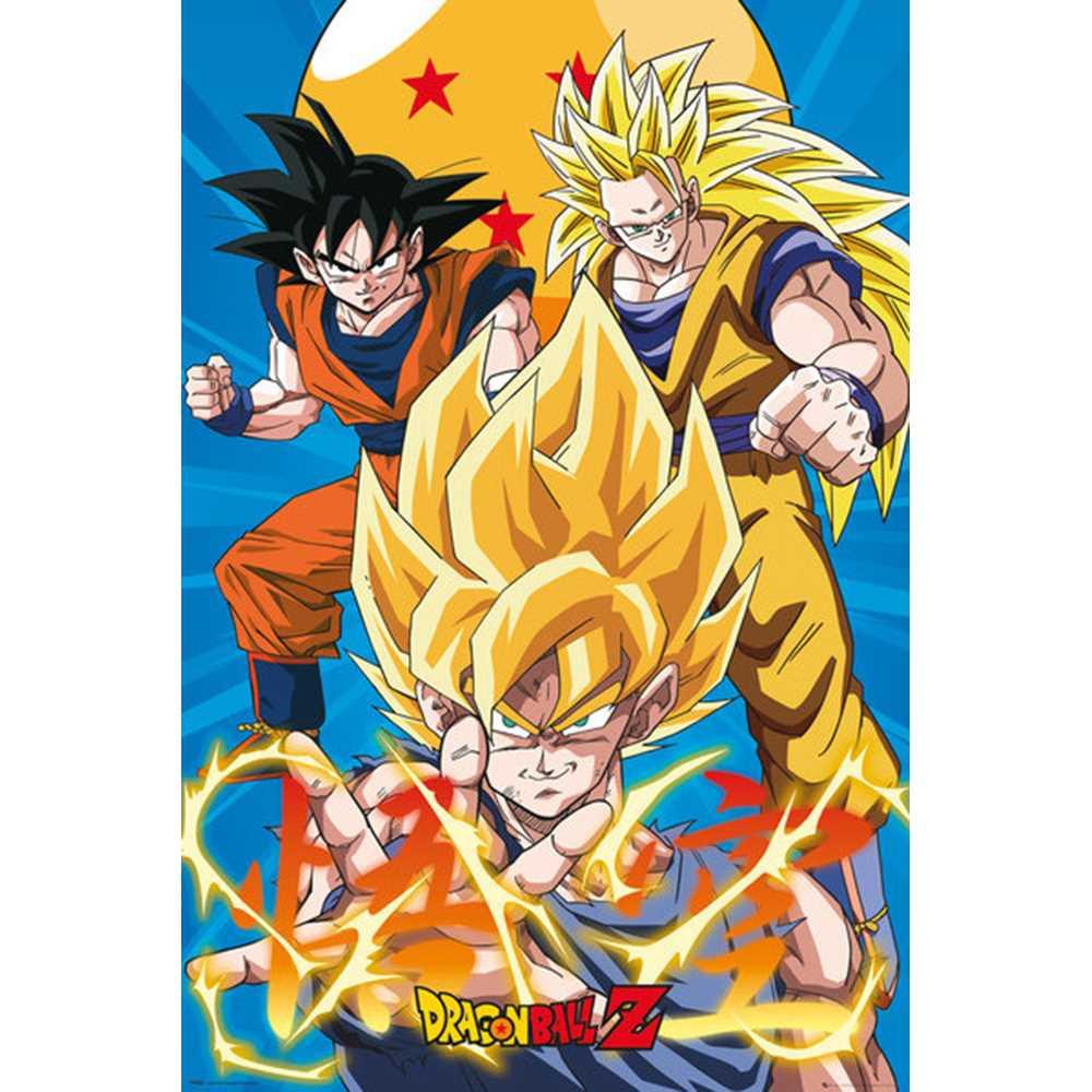DRAGON BALL ドラゴンボール 3 Gokus Evo / ポスター 【公式 / オフィシャル】