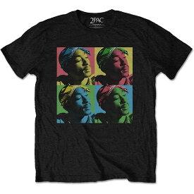2PAC トゥパック (追悼25周年 ) - POP ART / Tシャツ / メンズ 【公式 / オフィシャル】