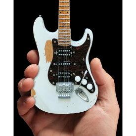 MOTLEY CRUE モトリークルー (初来日35周年記念 ) - Mick Mars Vintage White Mini Guitar / ミニチュア楽器 【公式 / オフィシャル】