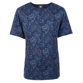 PRETTY GREEN(ブランド) プリティーグリーン SS TURNBULL ペイズリー クルーネック / Tシャツ / メンズ 【公式 / オフィシャル】