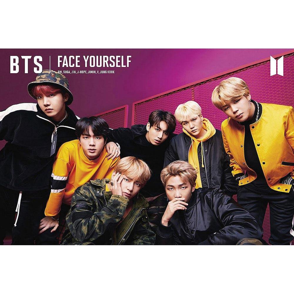 BTS 防弾少年団 Face Yourself / ポスター 【公式 / オフィシャル】