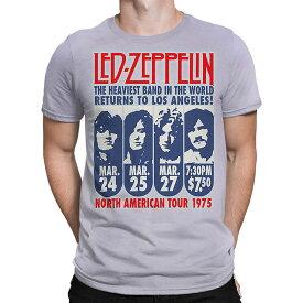 LED ZEPPELIN レッドツェッペリン (デビュー50周年記念 ) - LA 1975 /タイダイ / Tシャツ / メンズ 【公式 / オフィシャル】