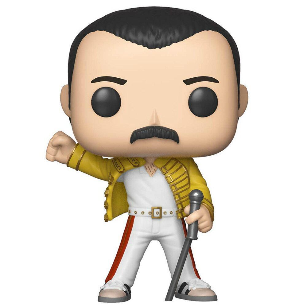 【予約商品】 QUEEN クイーン (2020 来日決定 ) - POP! ROCKS : Freddie Mercury(Wembley 1986) / フィギュア・人形 【公式 / オフィシャル】