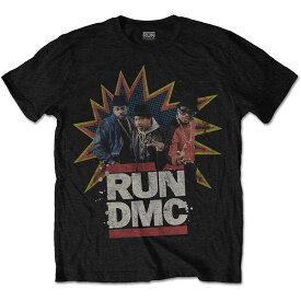 RUN DMC ランディーエムシー (映画『Krush Groove』35周年 ) - POW! / Tシャツ / メンズ 【公式 / オフィシャル】