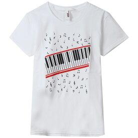 MICHAEL JACKSON マイケルジャクソン - Piano Keyboard / Tシャツ / レディース