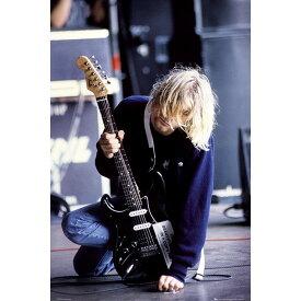 NIRVANA ニルヴァーナ (Bleach発売30周年記念 ) - KURT COBAIN Guitar / ポスター 【公式 / オフィシャル】