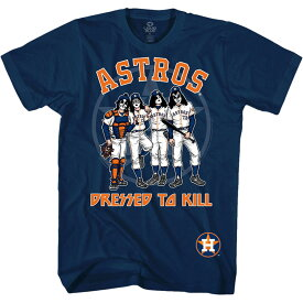KISS キッス (来日記念 ) - Houston Astros Dressed to Kill / Tシャツ / メンズ 【公式 / オフィシャル】