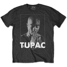 2PAC トゥパック (追悼25周年 ) - Praying / Tシャツ / メンズ 【公式 / オフィシャル】