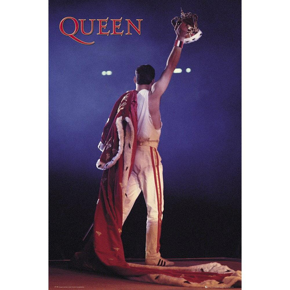 QUEEN クイーン (ボヘミアン・ラプソディ公開記念 ) - Crown / ポスター 【公式 / オフィシャル】