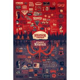 STRANGER THINGS ストレンジャー・シングス (シーズン4配信決定 ) - The Upside Down / ポスター 【公式 / オフィシャル】
