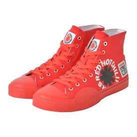 RED HOT CHILI PEPPERS レッチリ (初来日30周年記念 ) - Canvas HI RHCP Red / VISION STREET WEAR(ブランド) / スニーカー / レディース 【公式 / オフィシャル】