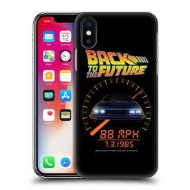 BACK TO THE FUTURE バックトゥザフューチャー (公開35周年 ) - 88 MPH ハード case / iPhoneケース 【公式 / オフィシャル】